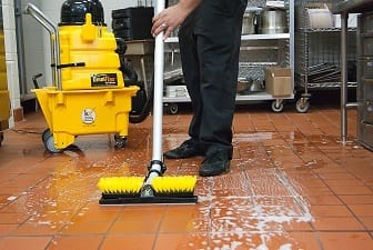 Clean And Safe Commercial Kitchen Floors
