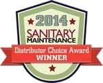 2014 Sanitary Maintenance Distributor Choice Award