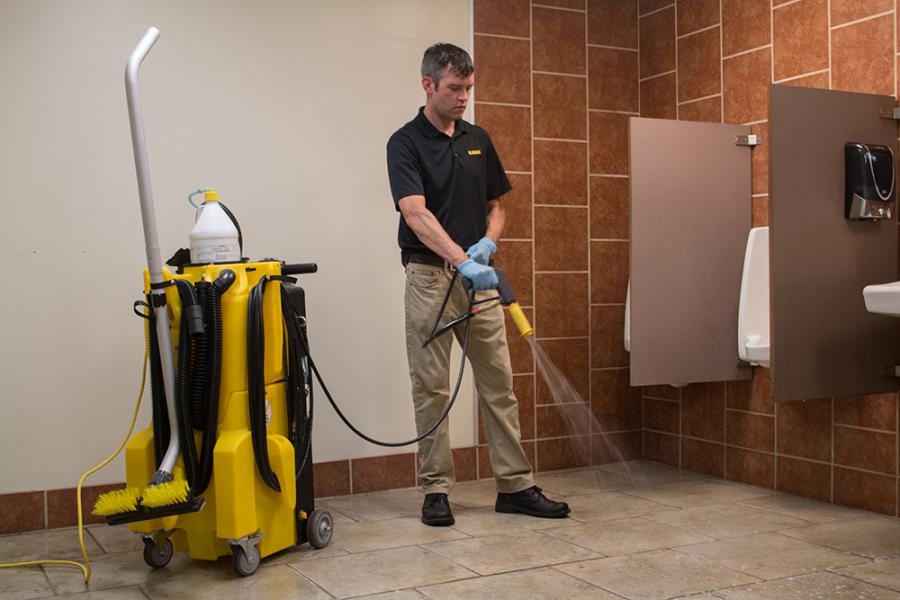 Puddle Jumper Airport Restroom Cleaning Kaivac Cleaning