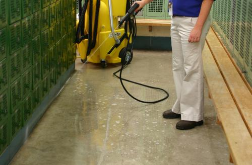 School Locker Room Cleaning: Eliminating the Filth of Fall Sports