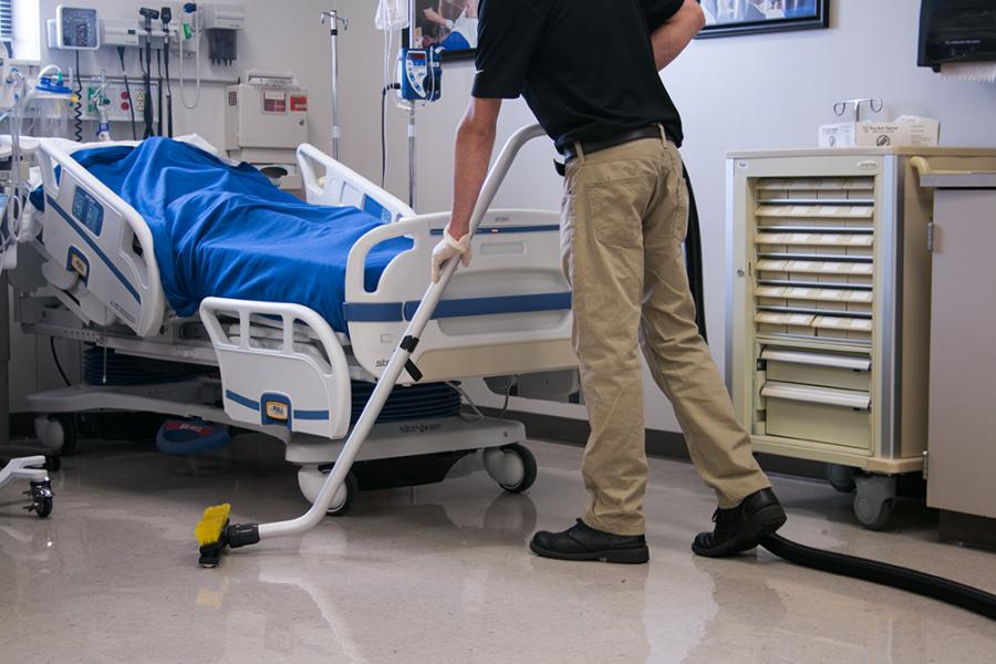 Get Healthy, Stay Healthy: Cleaning Hospital Floors to Prevent Hospital Acquired Infections