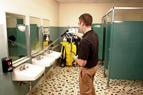Commercial restroom cleaning tips to boost customer for Commercial bathroom cleaner