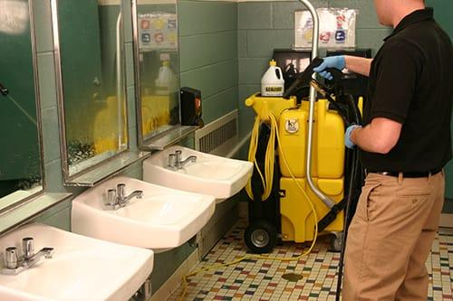 Protect employee health with proper cleaning procedures for Bathroom cleaning procedure