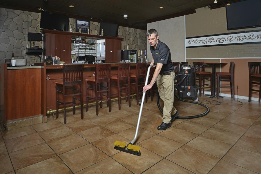 a buffet of restaurant floor cleaning tips - Restaurant Cleaner