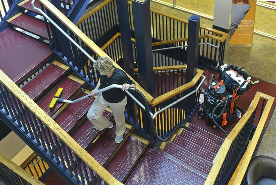Stairway to Heaven: Make Stairwell Cleaning Easy
