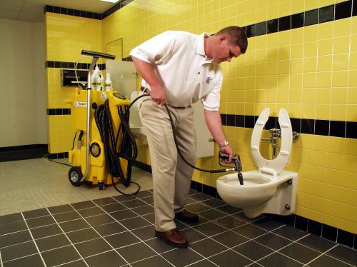 How To Clean A Stained Toilet Kaivac Cleaning Systems