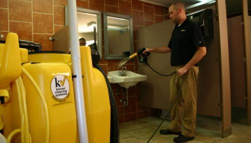 Restroom Cleaning Equipment Streamlines Processes On Campus