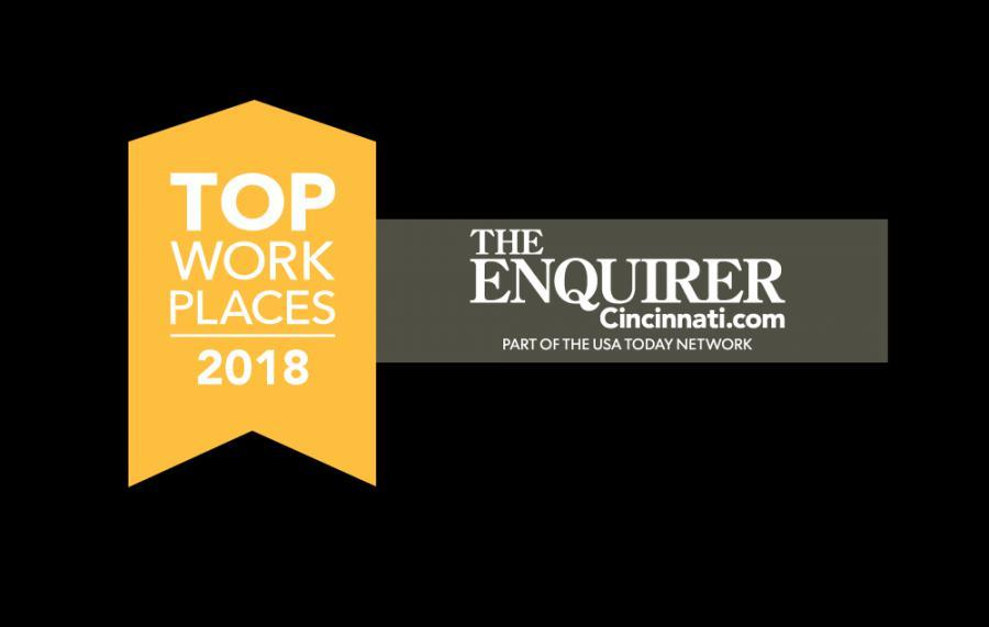 Cincinnati Enquirer Names Kaivac A Winner Of  The Greater Cincinnati And Northern Kentucky Area  2018 Top Workplaces Award