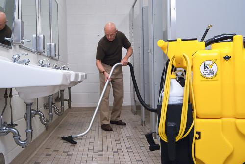 Reduce The Cost Of Cleaning Floors In Your Restroom