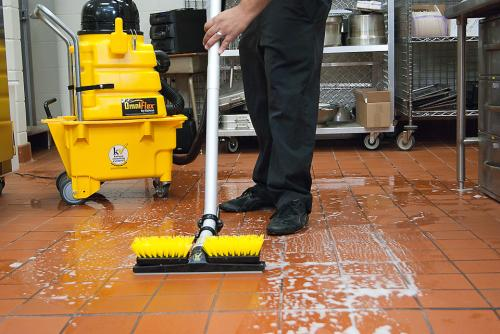 Proper restaurant floor cleaning for different types of for Best way to wash kitchen floor