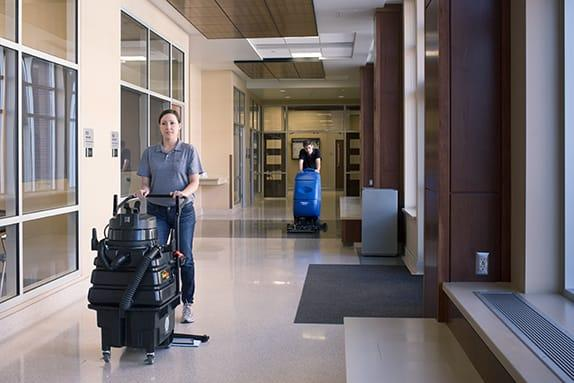 Are Automatic Floor Scrubbers Right for Your Business?